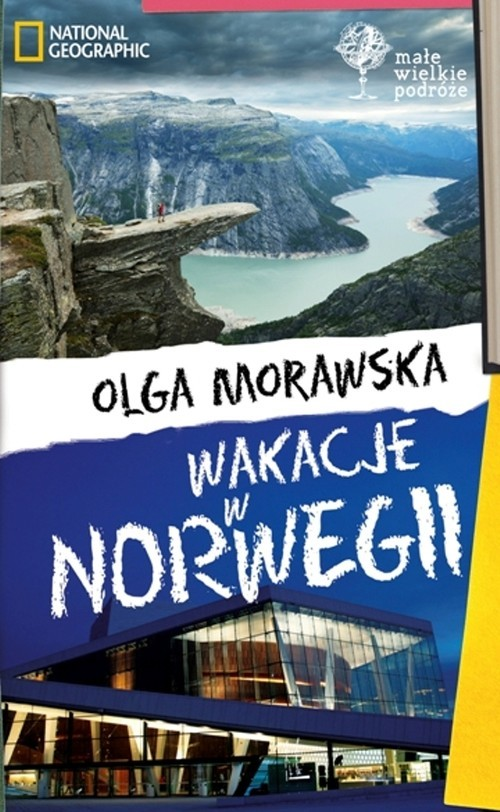 okładka Wakacje w Norwegii, Książka | Morawska Olga