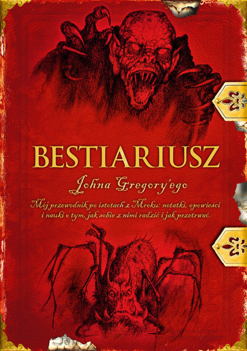 okładka Kroniki Wardstone Bestiariusz stracharza, Książka   Delaney Joseph