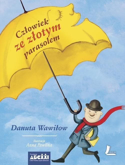 okładka Człowiek ze złotym parasolem, Książka | Wawiłow Danuta