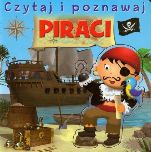 okładka Piraci Czytaj i poznawaj, Książka | Nathalie Belineau, Emilie Beaumont