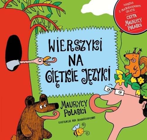 okładka Wierszyki na giętkie języki + płyta CD, Książka | Polaski Maurycy