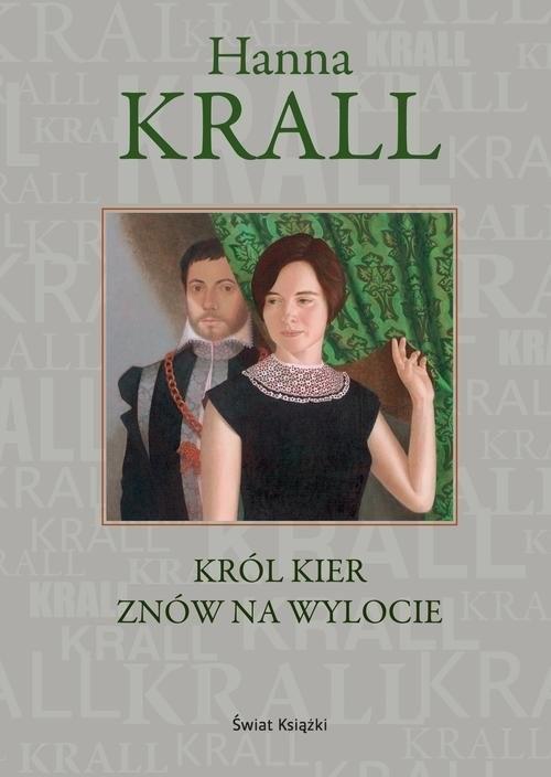 okładka Król kier znów na wylocie, Książka | Krall Hanna