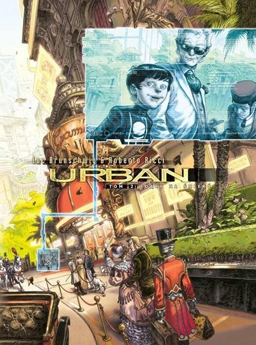 okładka Urban 2 Idący na śmierć, Książka | Luc Brunschwig, Roberto Ricci