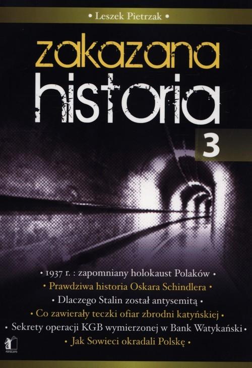 okładka Zakazana historia 3, Książka | Leszek  Pietrzak