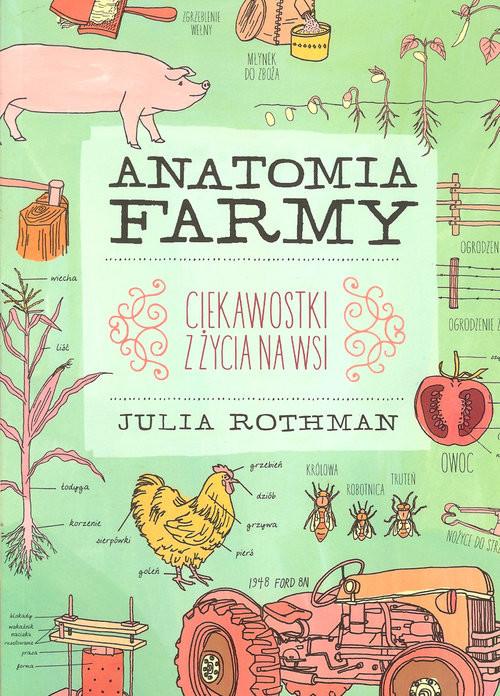 okładka Anatomia farmy, Książka | Rothman Julia