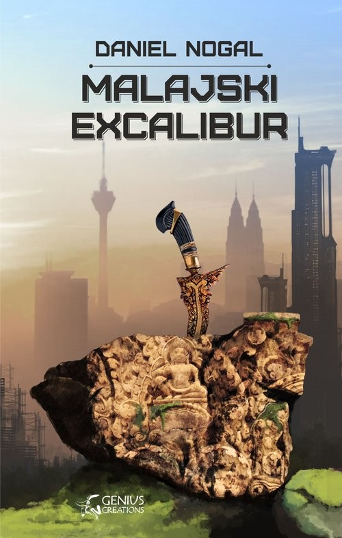 okładka Malajski Excalibur, Książka | Nogal Daniel