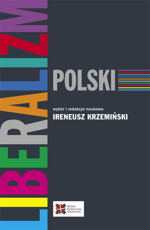okładka Liberalizm polski, Książka |