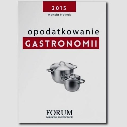 okładka Opodatkowanie gastronomii, Książka | Wanda Nowak, Przemysław Berkowicz