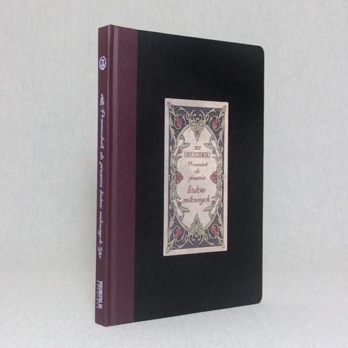 okładka Przewodnik do pisania listów miłosnych Reprint wydania z 1900 r., Książka | Chociszewski Józef