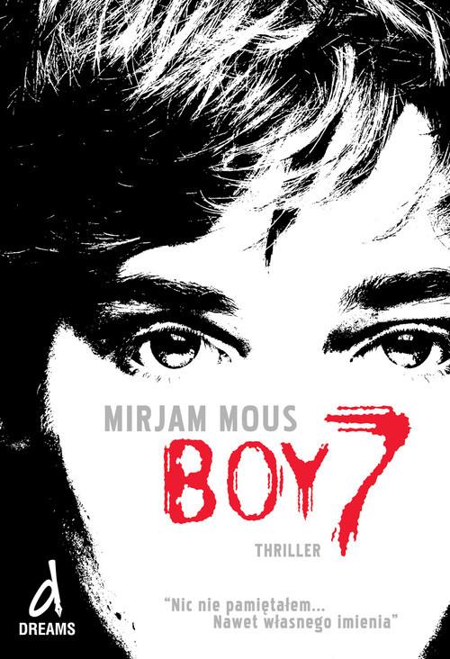 okładka Boy 7, Książka | Mous Miriam