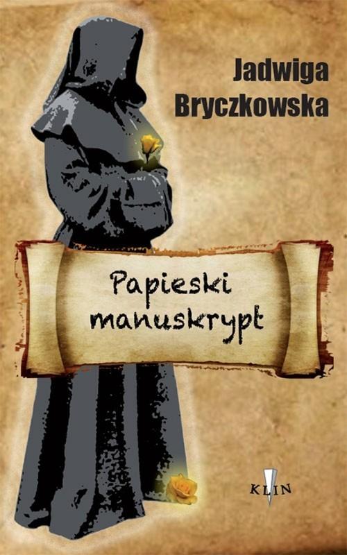 okładka Papieski manuskrypt, Książka | Bryczkowska Jadwiga