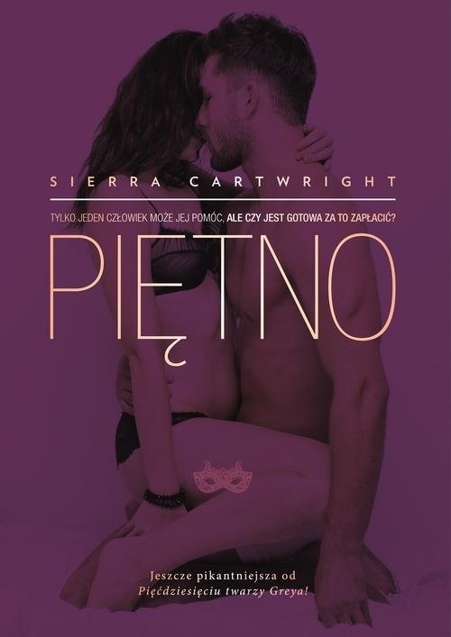 okładka Piętno, Książka   Cartwright Sierra