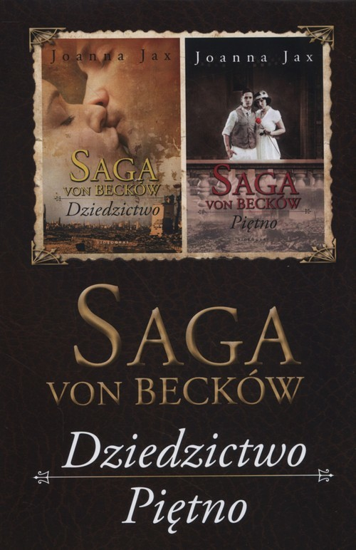 okładka Saga Von Becków Dziedzictwo / Piętno Pakiet, Książka | Jax Joanna