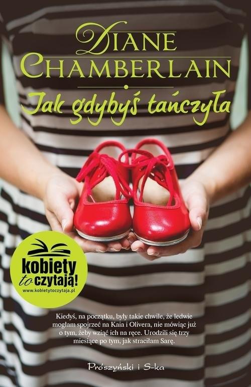 okładka Jak gdybyś tańczyła, Książka | Chamberlain Diane