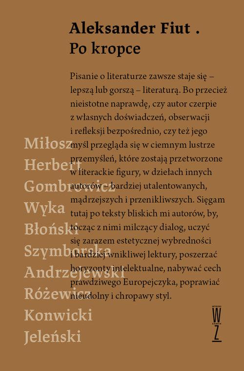 okładka Po kropce, Książka | Fiut Aleksander