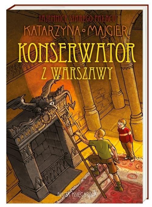 okładka Konserwator z Warszawy, Książka | Katarzyna Majgier