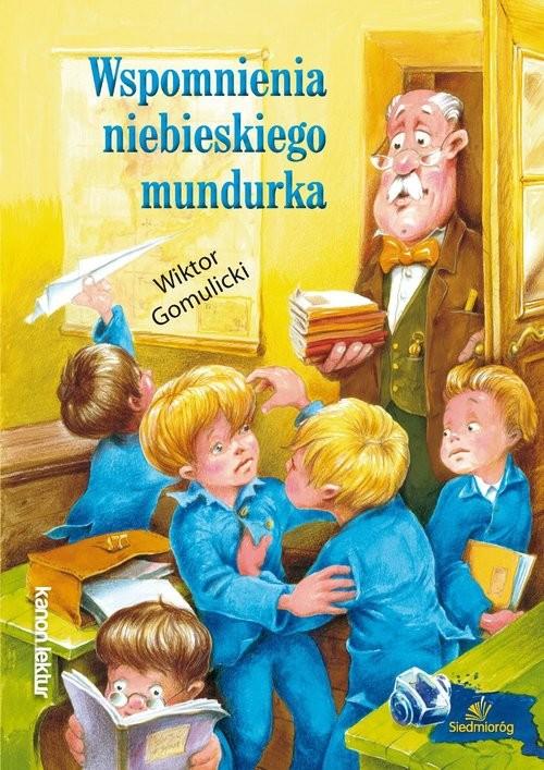 okładka Wspomnienia niebieskiego mundurka, Książka | Wiktor Gomulicki
