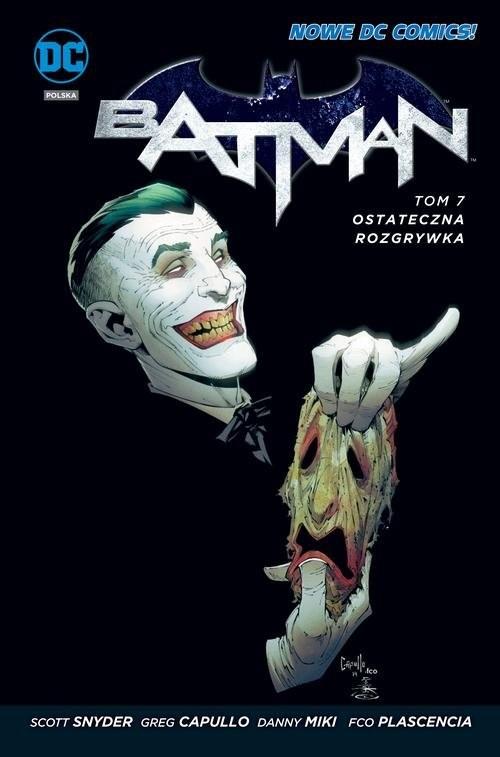 okładka Batman - Ostateczna rozgrywka Tom 7, Książka | Scott Snyder