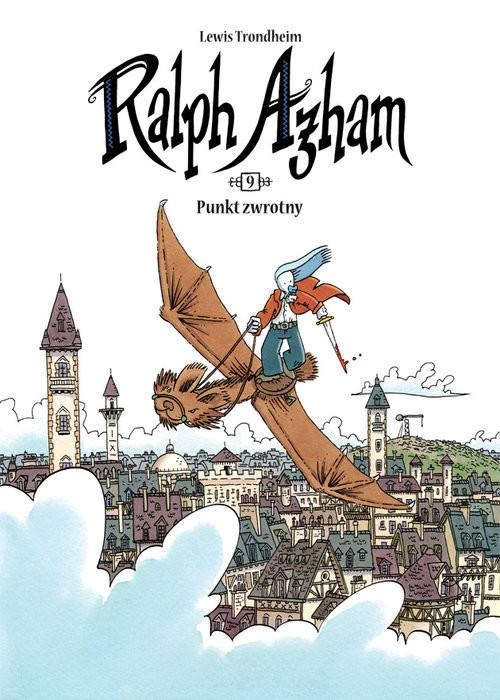 okładka Ralph Azham 9 Punkt zwrotny, Książka | Trondheim Lewis