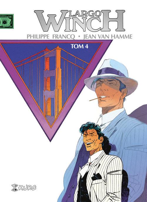 okładka Largo Winch Tom 4 wydanie zbiorcze, Książka   Philippe Franq, Hamme Jean Van