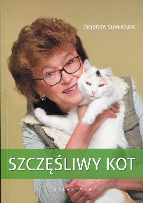 okładka Szczęśliwy kot, Książka | Sumińska Dorota