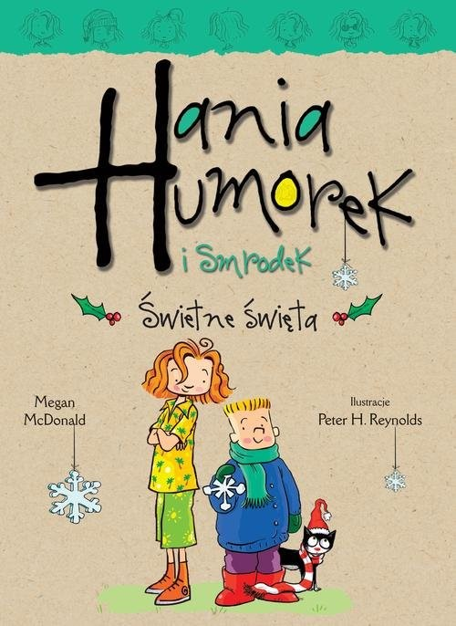 okładka Hania Humorek i Smrodek Świetne święta, Książka | McDonald Megan
