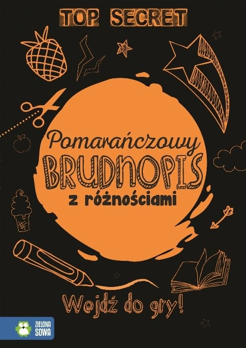 okładka Pomarańczowy brudnopis z różnościami, Książka | Praca Zbiorowa