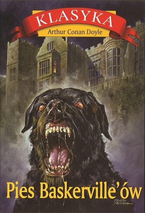 okładka Pies Baskerville'ów. KsiążkaArthur Conan Doyle