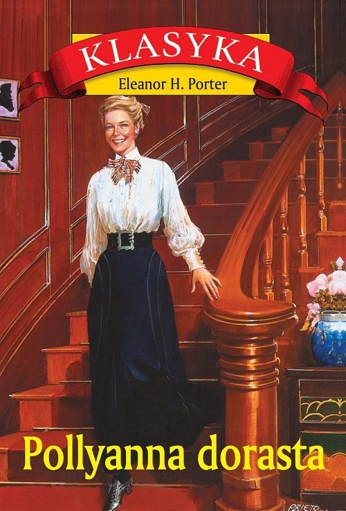 okładka Pollyanna dorasta, Książka | Eleanor H. Porter