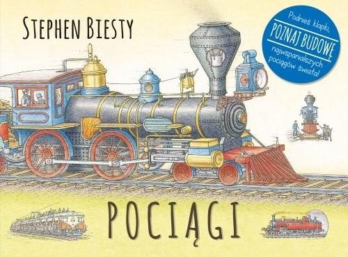okładka Pociągi, Książka | Biesty Stephen