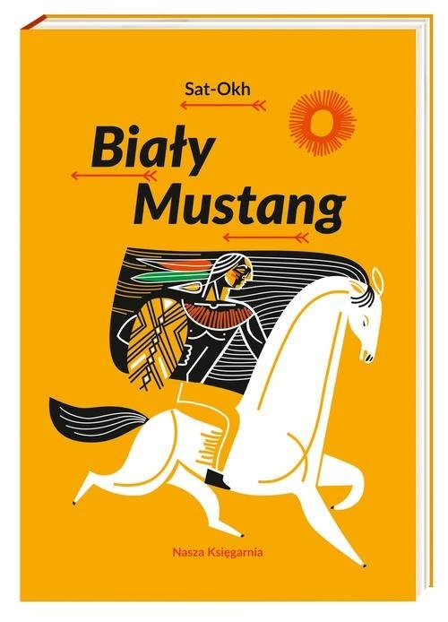 okładka Biały Mustang, Książka   Sat-Okh