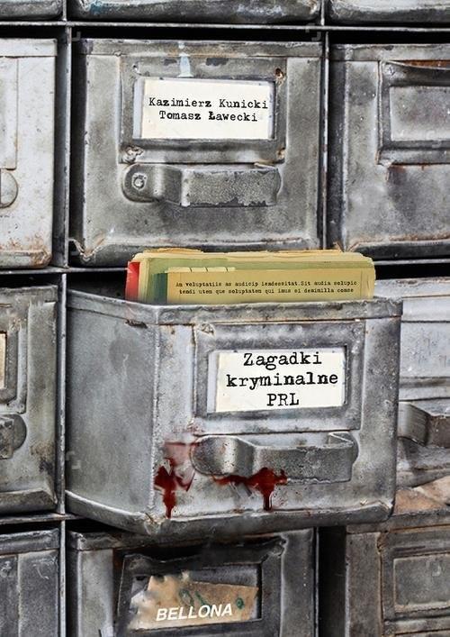 okładka Zagadki kryminalne PRL, Książka | Tomasz Ławecki, Kazimierz Kunicki