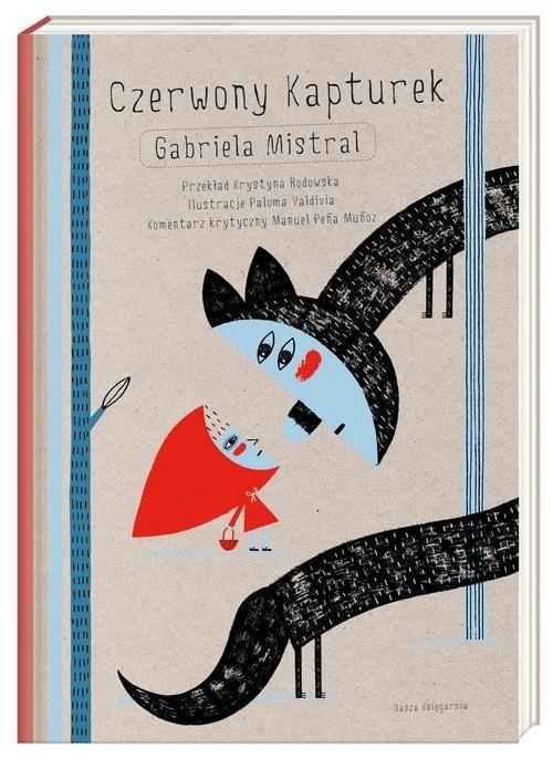 okładka Czerwony Kapturek, Książka | Mistral Gabriela