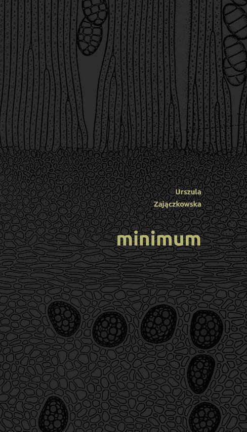 okładka Minimum, Książka | Zajączkowska Urszula