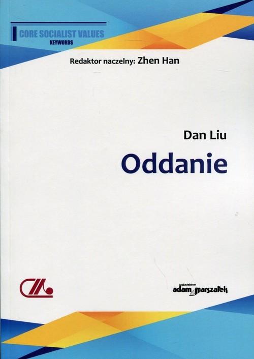 okładka Oddanie, Książka | Liu Dan