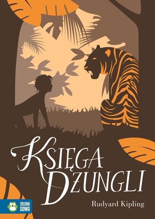 okładka Księga Dżungliksiążka      Kipling Rudyard