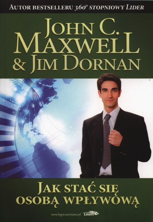 okładka Jak stać się osobą wpływową, Książka | John Maxwell, Jim Dornan