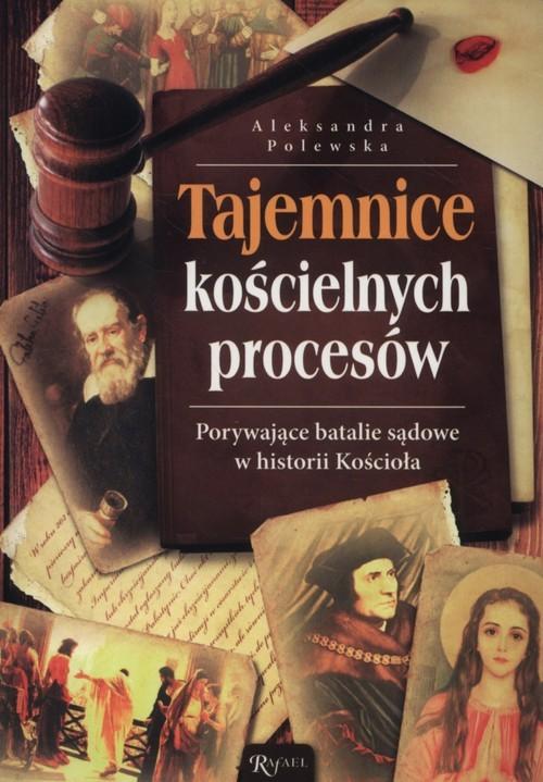 okładka Porywające batalie sądowe w historii Kościoła, Książka | Polewska Aleksandra