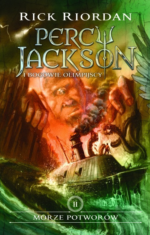 okładka Morze potworów Percy Jackson i Bogowie Olimpijscy Tom 2, Książka | Riordan Rick
