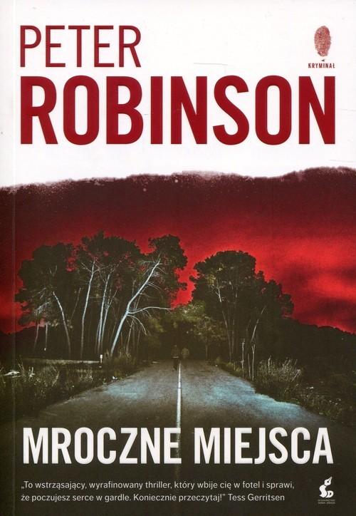 okładka Mroczne miejsca, Książka | Robinson Peter