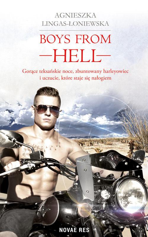 okładka Boys from Hell, Książka | Agnieszka Lingas-Łoniewska