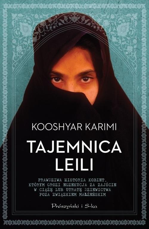 okładka Tajemnica Leili, Książka | Karimi Kooshyar
