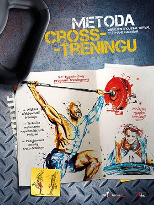 okładka Metoda Cross-Treningu, Książka | Broussal-Derval Aurélien