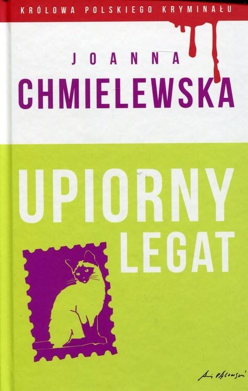 okładka Upiorny legat, Książka | Chmielewska Joanna