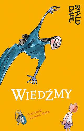 okładka Wiedźmy, Książka | Roald Dahl