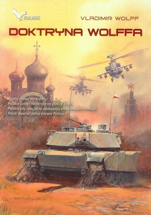 okładka Doktryna Wolffa, Książka | Vladimir Wolff