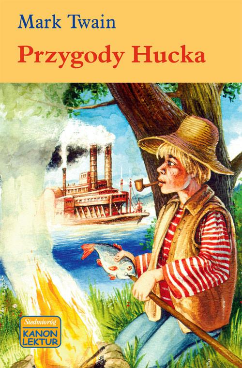 okładka Przygody Huckaksiążka      Mark Twain