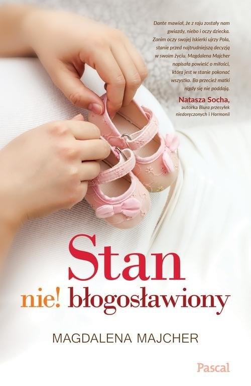okładka Stan nie!błogosławiony, Książka | Majcher Magdalena