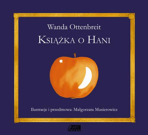okładka Książka o Hani, Książka | Ottenbreit Wanda