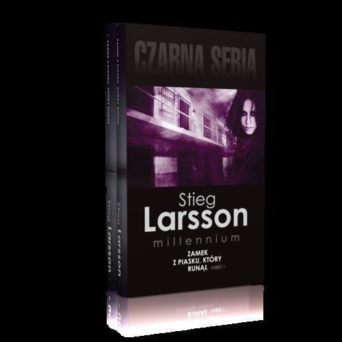 okładka Zamek z piasku, który runął Część 1-2 Pakietksiążka |  | Larsson Stieg